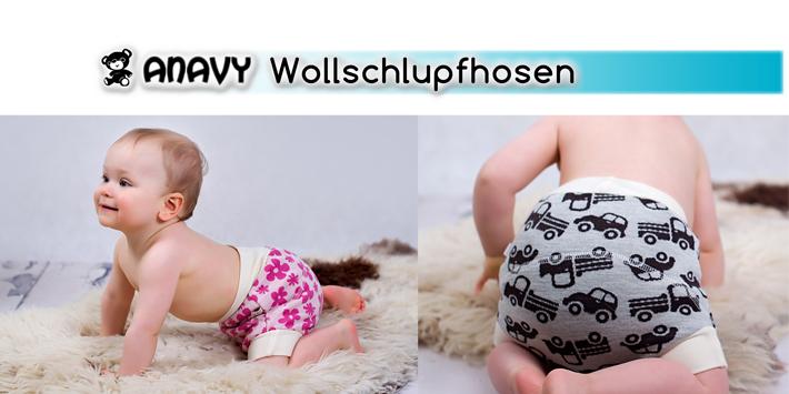 Anavy Wollschlupfhosen Bild