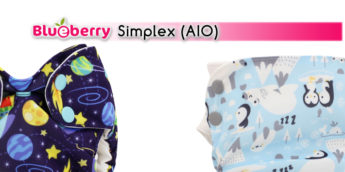 Simplex Blueberry All In One Aio
