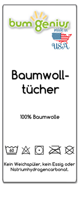 Eittikett-Bumgenius-Baumwolltucher