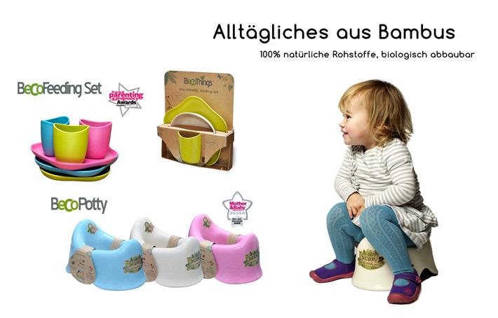 becothings bambus kinder geschirr set kinderteller babygeschirr beco feeding set ebay. Black Bedroom Furniture Sets. Home Design Ideas