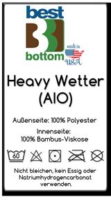 BestBottom HeavyWetterAIO Ettikett