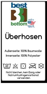 BestBottom-Uberhosen-Baumwolle-Ettikett