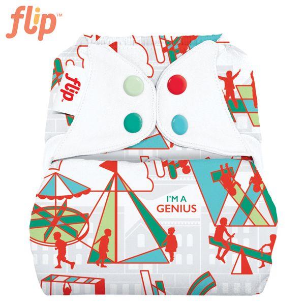 Flip Überhose One Size (Druckies) - Play (Muster)