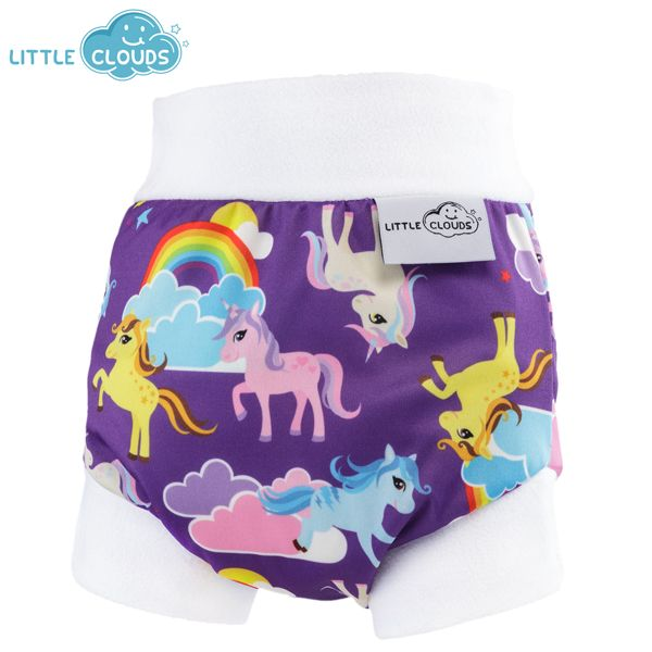 Little Clouds - Überhose (Schlupfhose) - Rainbow Pony