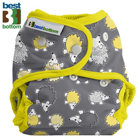 Best Bottom - Überhose (SIO) BIGGER (XL 5-20+ kg) - PUL - Hedgehog