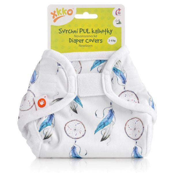 XKKO - Überhose (PUL) - Newborn (2-4 kg) - Traumfänger