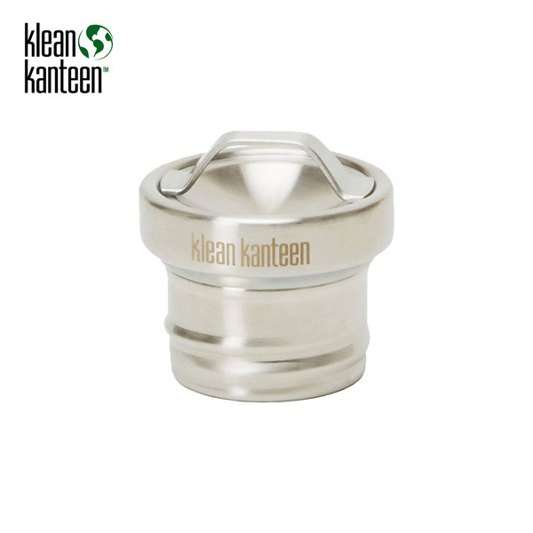 "Klean Kanteen - Edelstahl Loop Cap ""All Stainless"""