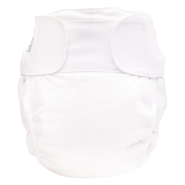 Blümchen - Kinder & Erwachsenen Stoffwindel (Inkontinenz Windel) - Weiß