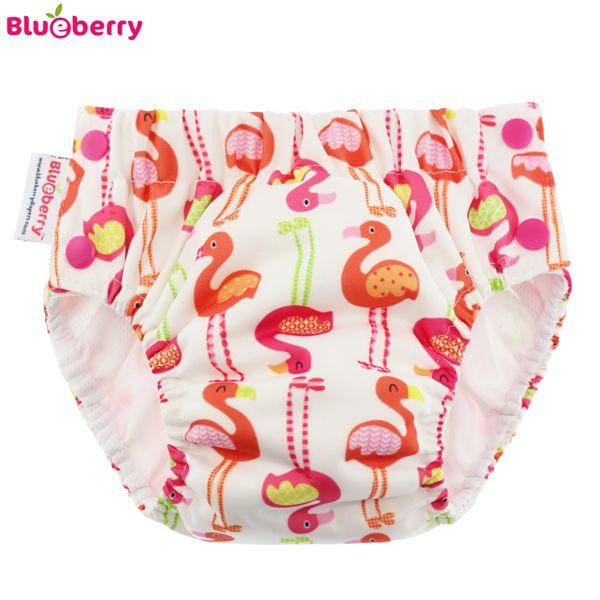 Blueberry Freestyle Schwimmwindel - Flamingo -