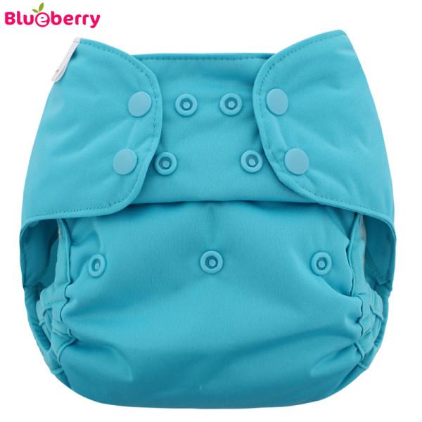 Blueberry - Capri 2.0 Überhose (Prefold) - Blaugrün (Teal)