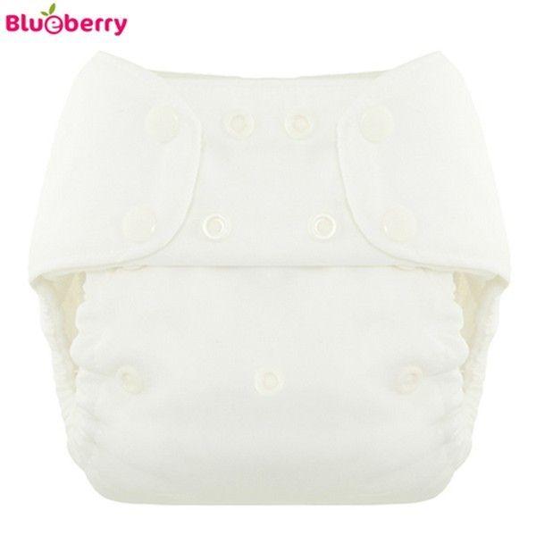 Blueberry - Simplex OneSize (AIO) - Bio-Baumwolle (GOTS) - Weiß