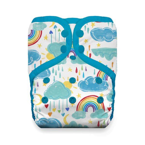 Thirsties - Natural Pocketwindel - One Size (4-18 kg) - Rainbow