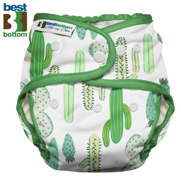 Best Bottom - Heavy Wetter AIO (One Size) - Prickly Cactus