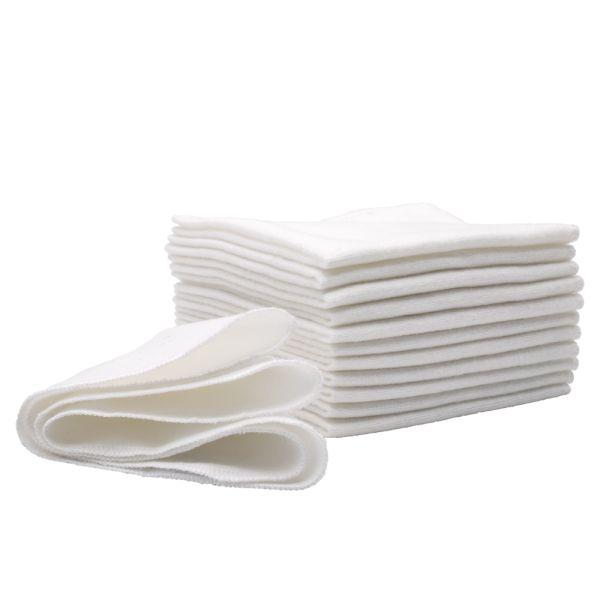 BumGenius - Flanell-Reinigungstücher (100% Baumwolle) - 12 Stück