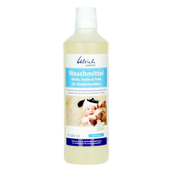 Ulrich natürlich - Waschmittel (Wolle, Seide & Felle) für Kindertextilien - vegan