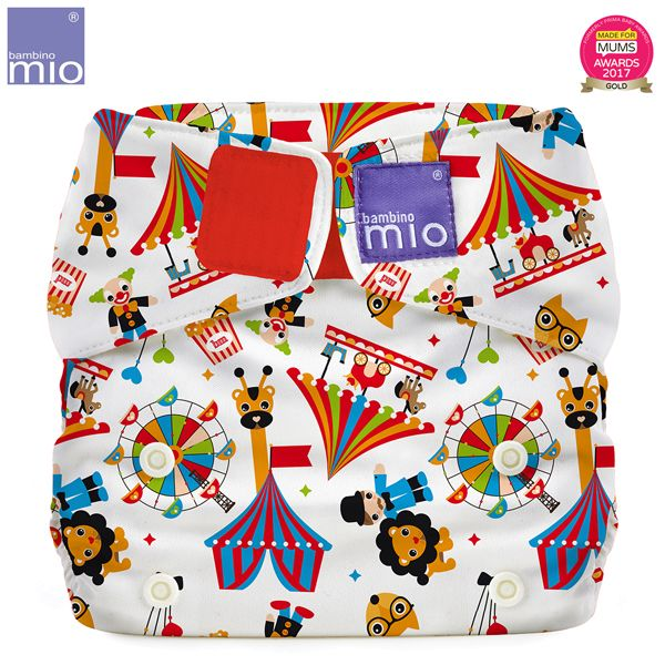 Bambino Mio - MioSolo (All-in-One) One Size Windel - Circus Time