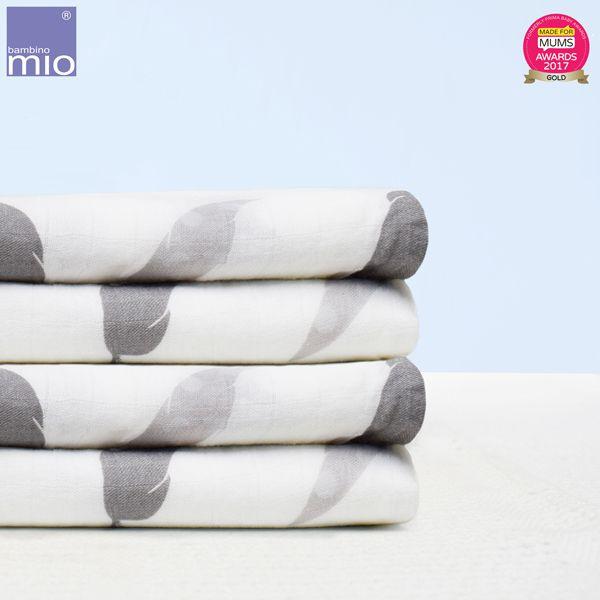 Bambino Mio - Pucktücher (Einschlagtuch) - 120x120 cm - 2 Stück