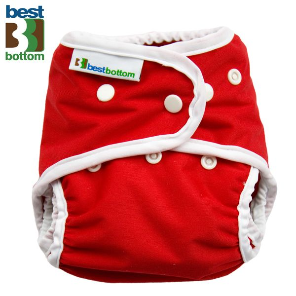 Best Bottom - Überhose (SIO) BIGGER (XL 5-20+ kg) - PUL - Rot
