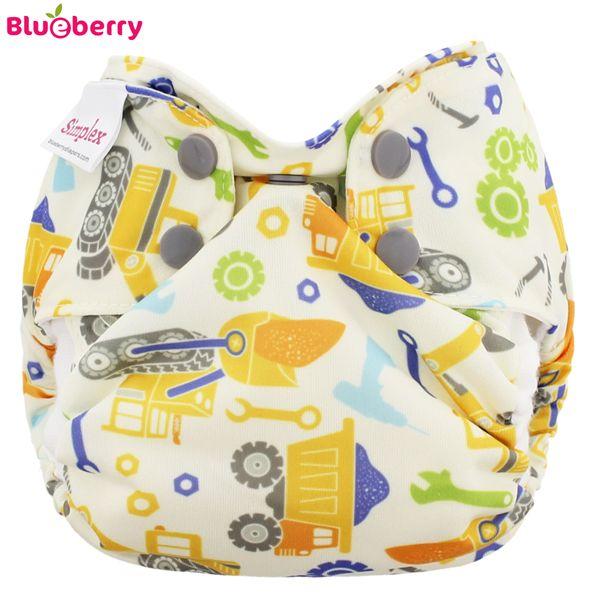 Blueberry Simplex Newborn (AIO) - Bio-Baumwolle GOTS - Work Zone