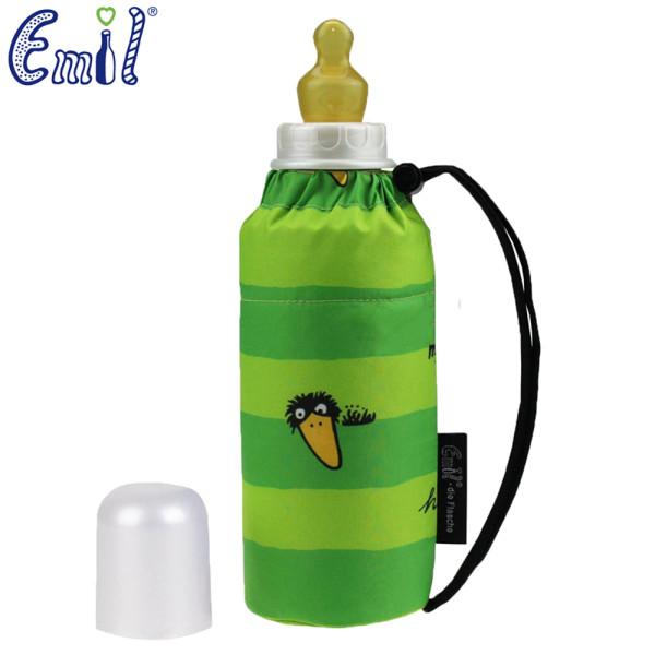 Emil - Babyflasche (250ml) - Komplettset - Rabe (Grün)