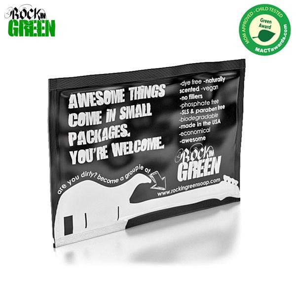 Rockin Green Waschmittel - Probepackung