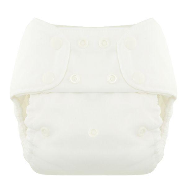Blueberry Simplex OneSize (AIO) Bio-Baumwolle (GOTS) Weiß