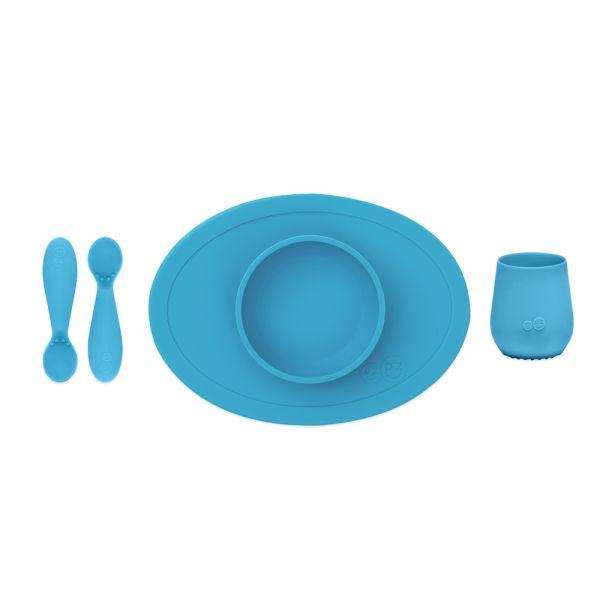 """EZPZ - """"First Foods Set"""" - komplettes Tischgedeck für Babys - 100% Silikon"""