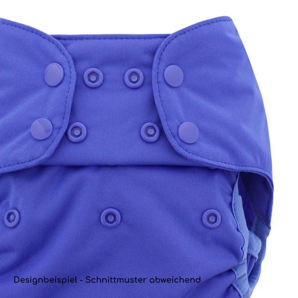 "Blueberry - Simplex Newborn (AIO) - Bio-Baumwolle (GOTS) - ""Marina"" (Blau)"