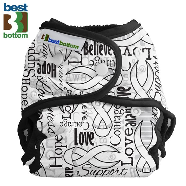 Best Bottom Diapers (PUL) Überhosen - One Size - Ribbons of Hope