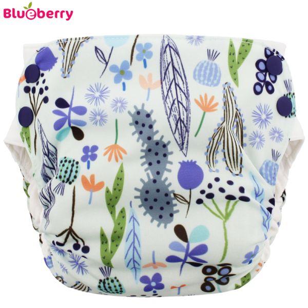 Blueberry - Simplex 2.0 Side Snap (AIO) - Bio-Baumwolle (GOTS) - Sedona