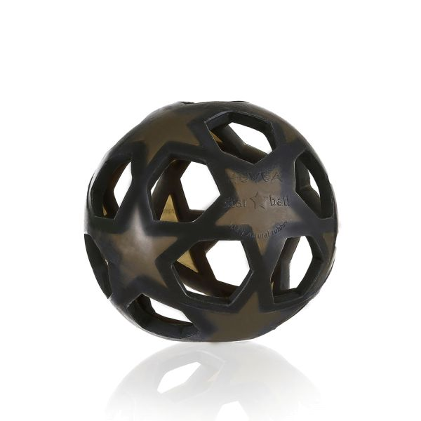 """Hevea - """"Star Ball"""" Greifball (100% Naturkautschuk) - Motorikspielzeug"""