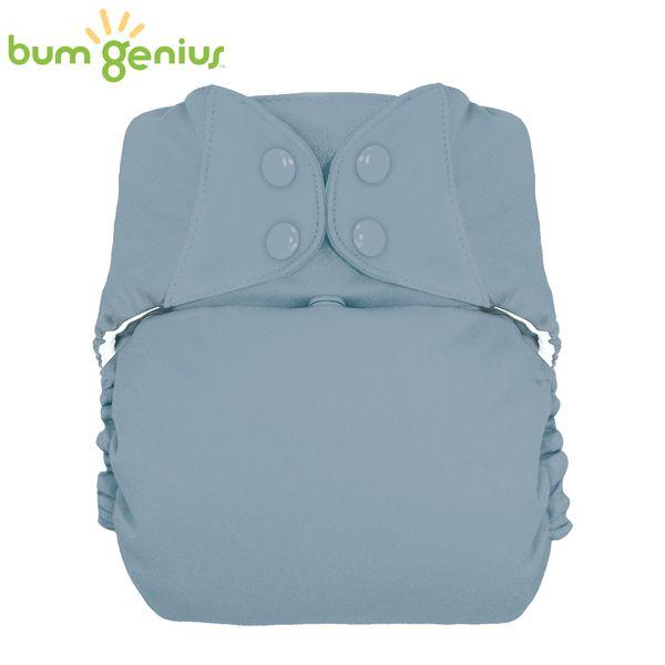 BumGenius XXL-Pocketwindel - BIG (16-32 kg) - Armadillo (Grau)