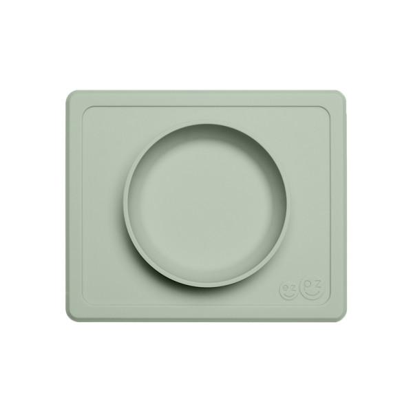 """EZPZ - """"Mini Bowl"""" - 100% Silikon (Rutschfeste Schüssel) Olivgrün"""