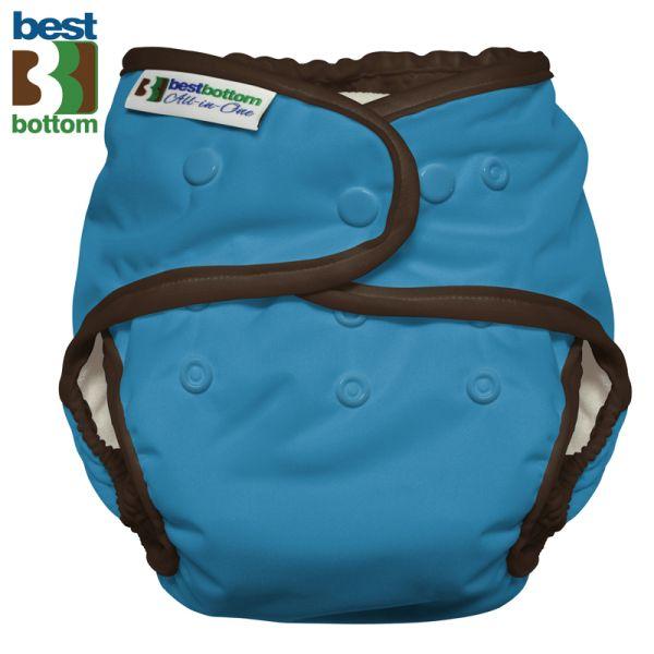 Best Bottom - Heavy Wetter AIO (One Size) - Blau (Cookie Monster)