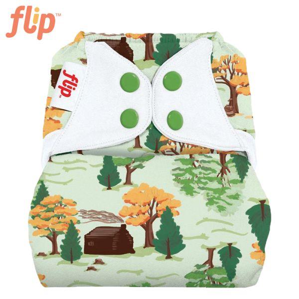 Flip Überhose One Size (Druckies) - The Big Woods (Muster)