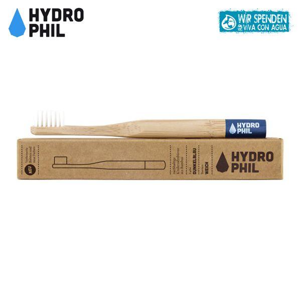 Hydrophil - Bambus-Zahnbürsten - plastikfreie Borsten - Kinder (weich)