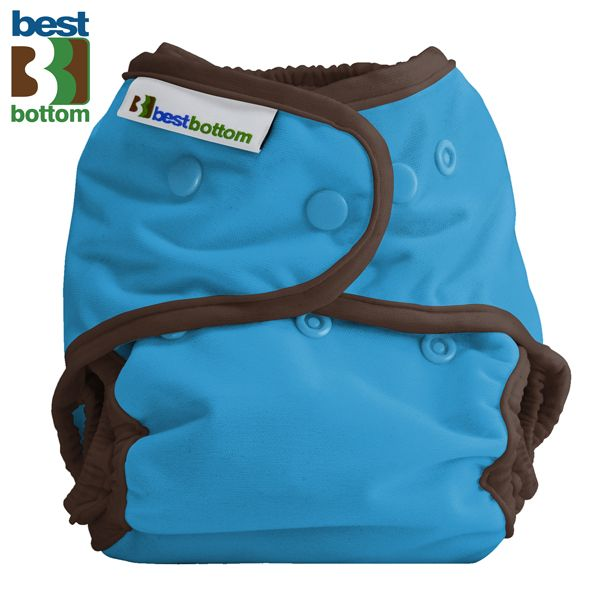 "Best Bottom Diapers (PUL) Überhosen - One Size - Einfarbig - ""Blau"""