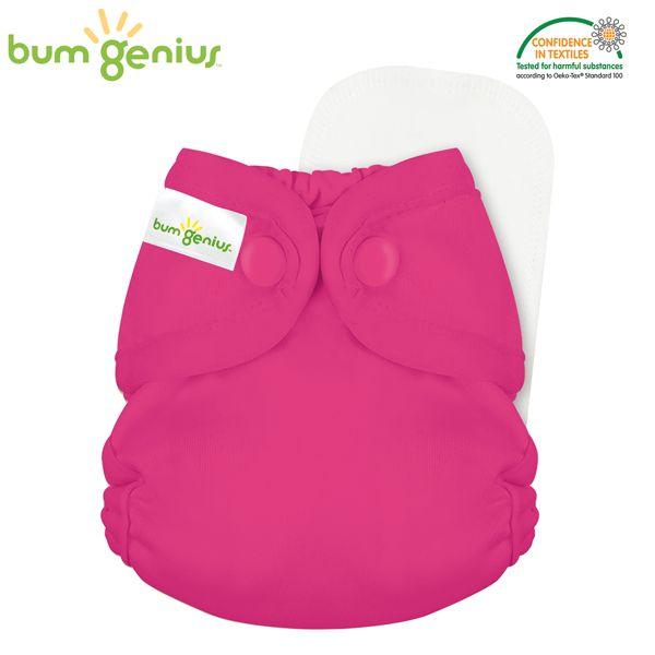 BumGenius - Littles 2.0 Newborn (2-6 kg) - Countess (Erdbeer)