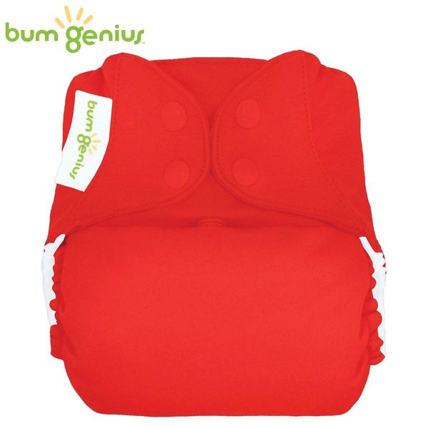 BumGenius V5.0 Pocketwindel One Size - Pepper (Rot)