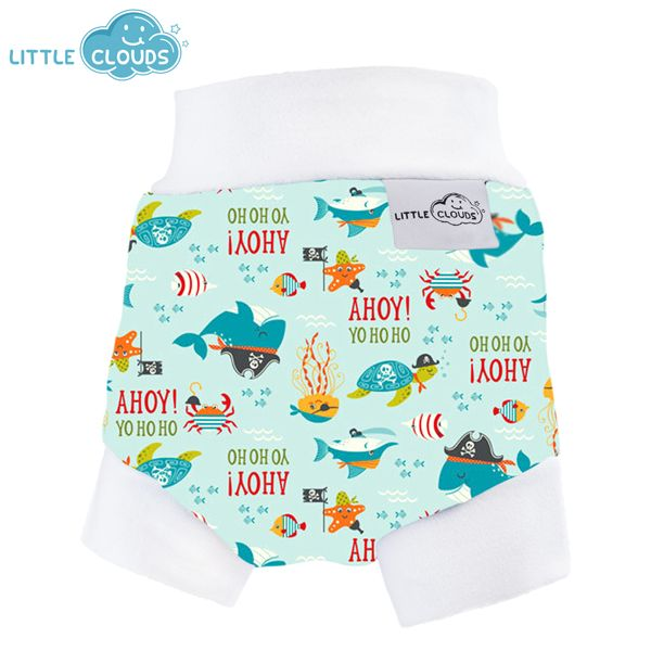 Little Clouds - Überhose (Schlupfhose) - Ahoy Pirate