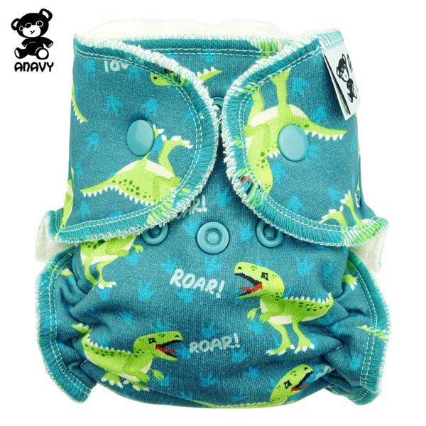 Anavy - Höschenwindeln - Dinosaurier - Newborn (2-6 kg)