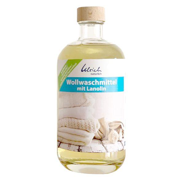 Ulrich natürlich - Wollwaschmittel mit Lanolin - 500ml Glasflasche