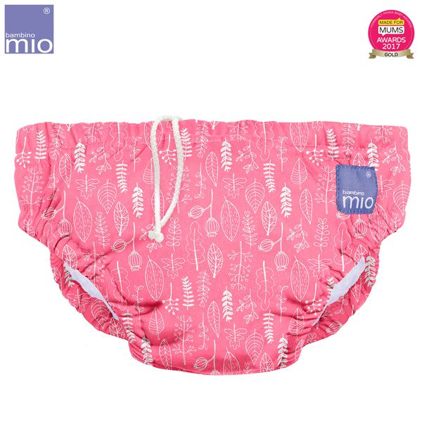 Bambino Mio - waschbare Schwimmwindel - Pink Petal (S-XL)