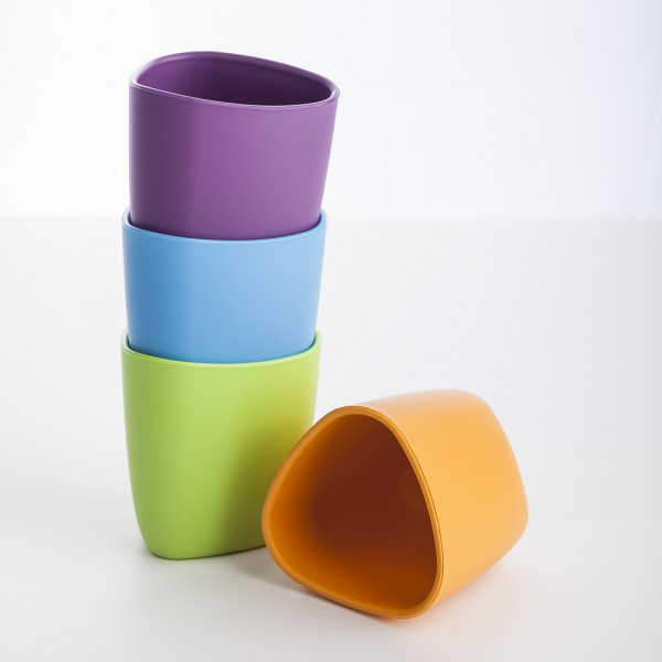 ekoala - eKuà – kompostierbarer Trinkbecher (100% Bio-Kunststoff) - 2 Stück