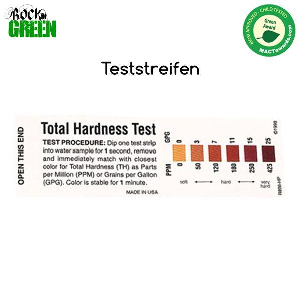 Rockin Green - Teststreifen für Wasserhärte