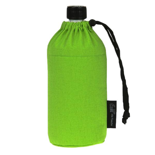Emil die Flasche (600ml) - Komplettset (Bio-Baumwolle-Überzug) - Grün