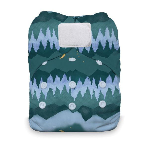 Thirsties - Natural AIO - One Size (4-18 kg) - Mountain Twilight