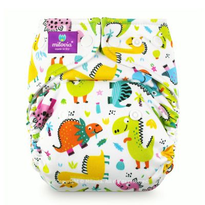 Milovia - Microfleece Pocketwindel (One Size) - Cool Dinos