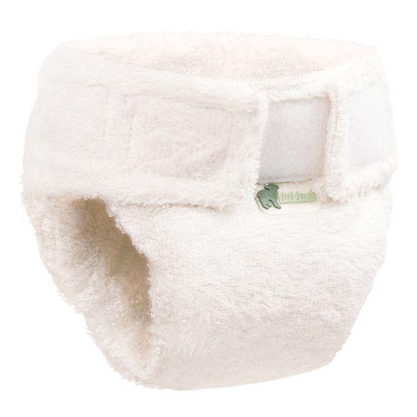 Little Lamb - Mehrgrößen-Höschenwindel (Bambus-Viskose) - Klettverschluss