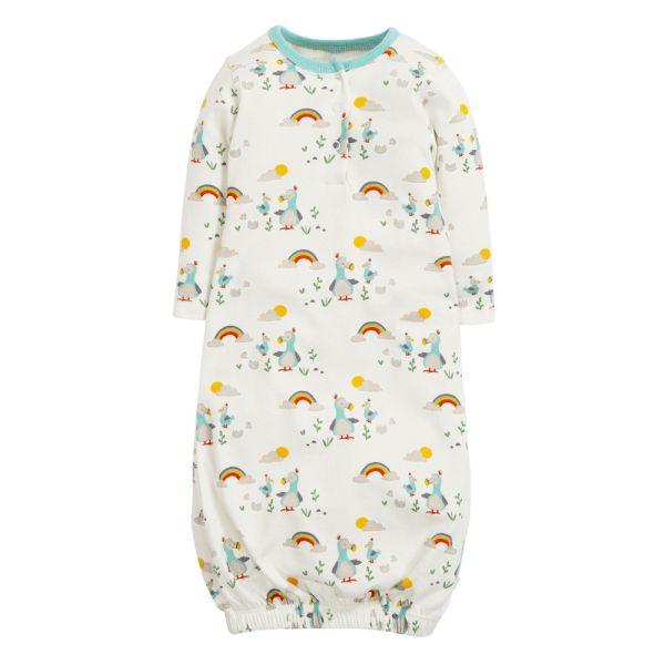 Frugi - Windelfrei Baby Schlafhemd & Schlafsack (0-12 Monate) - Bio-Baumwolle GOTS